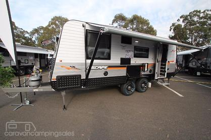 Elegant Little Caravan 12ft Xscape  Caravancampingsalescomau