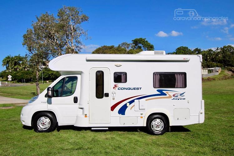 2011 Jayco Conquest Fiat 20ft Automatic