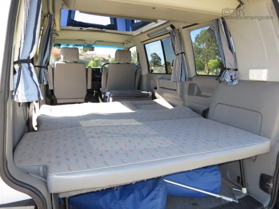 1997 volkswagen trakka camper auto 5 seats motorhomes for Interieur combi vw