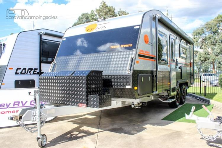 Innovative Crusader Goes OffRoad  Caravan Industry News