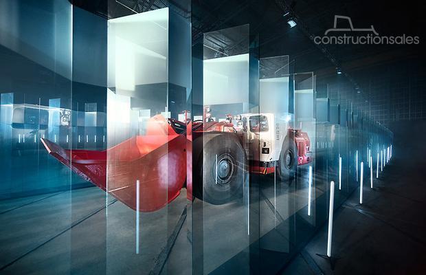 山特维克汽车装载机征服玻璃迷宫