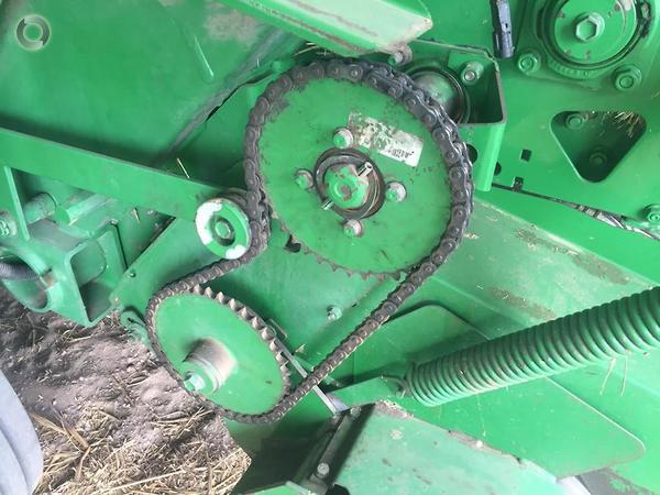 2007 John Deere 467 Round Baler available at AGRIMAC - AGRIMAC