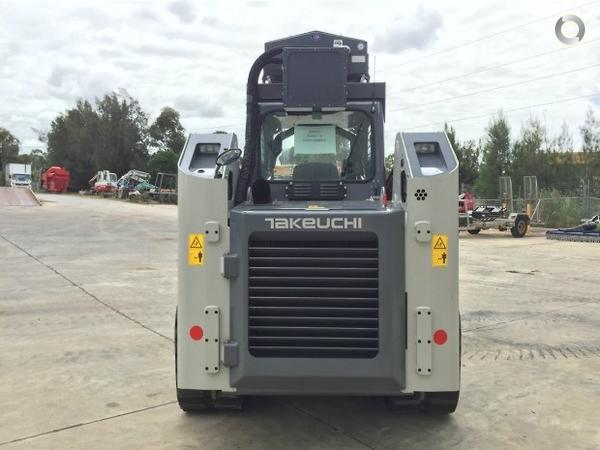 Takeuchi TL12 Forestry Special available at Semco - Semco