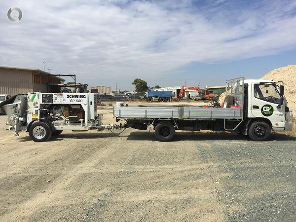 2017 SCHWING SP500 TRAILER MOUNTED CONCRETE PUMP available at