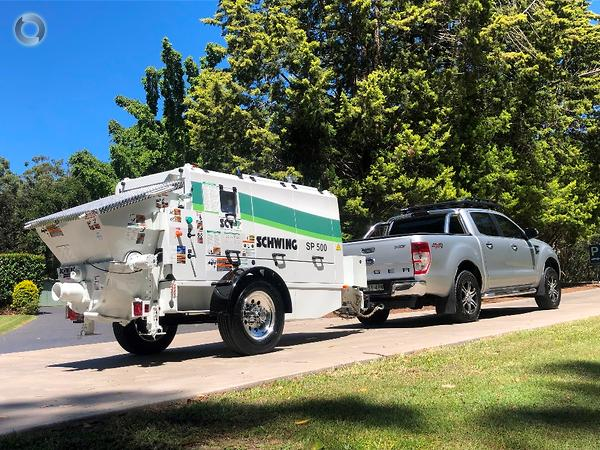 2019 SCHWING SP500 TRAILER PUMP - HERE NOW available at Schwing