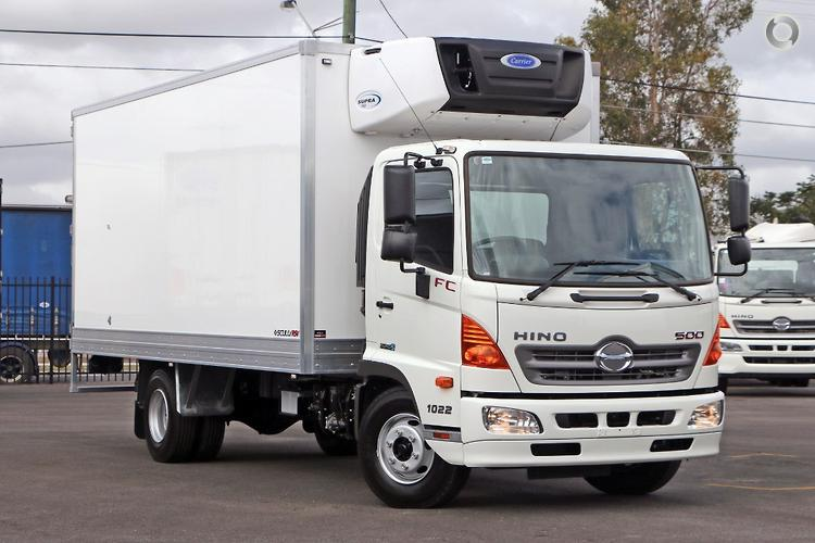 16193812fb 2018 Hino 1022 Scully RSV 5 Ton 8 Pallet Alpine Cargo Manual Freezer