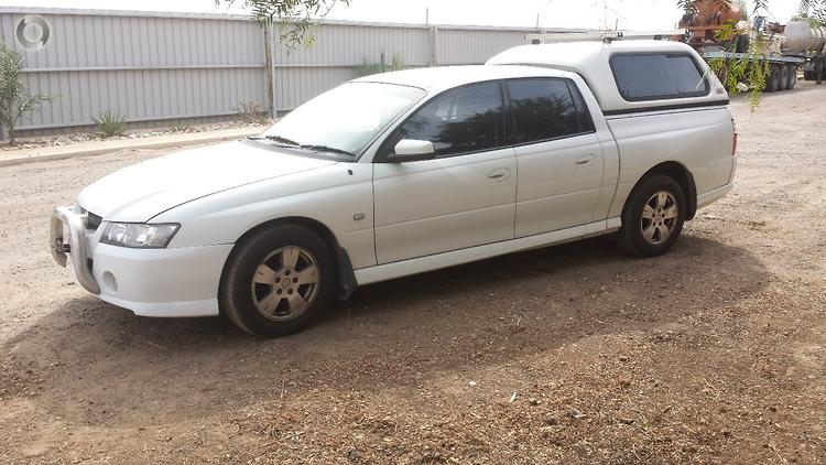 Previous; Next  sc 1 st  Detroit Auto Sales (SA) & 2007 Holden VZ Crewman Utility with canopy available at Detroit Auto ...