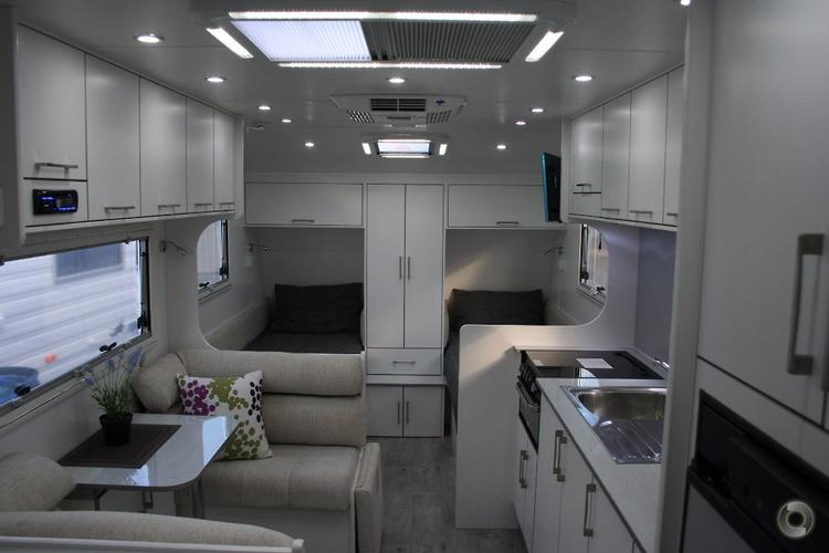 2016 New Age Manta Ray MR19E Single Beds