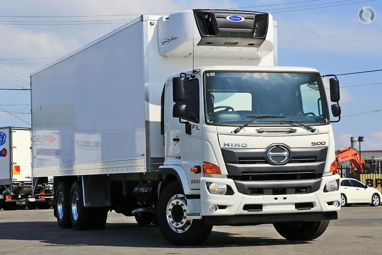 5dfdd4f5c6 2018 Hino FL 2628 Scully RSV 12 Ton 14 Pallet Arctic Cargo Freezer · New  Refrigerated  Truck