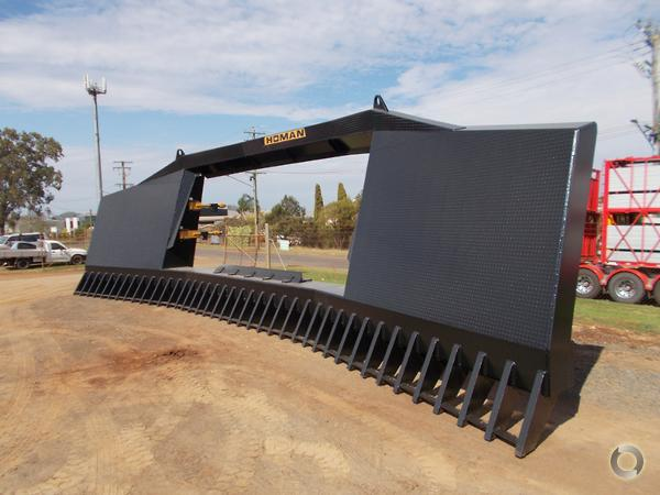 2019 Homan 34 Foot drive in clip on stick rake available at