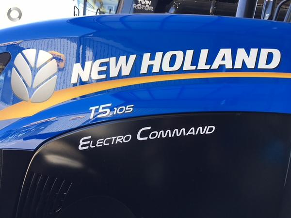 New Holland T5 105 Electro Command available at McIntosh
