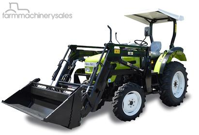 2016 Agrison 55HP Ultra G3 Series Tractor FEL 4 in 1 ...