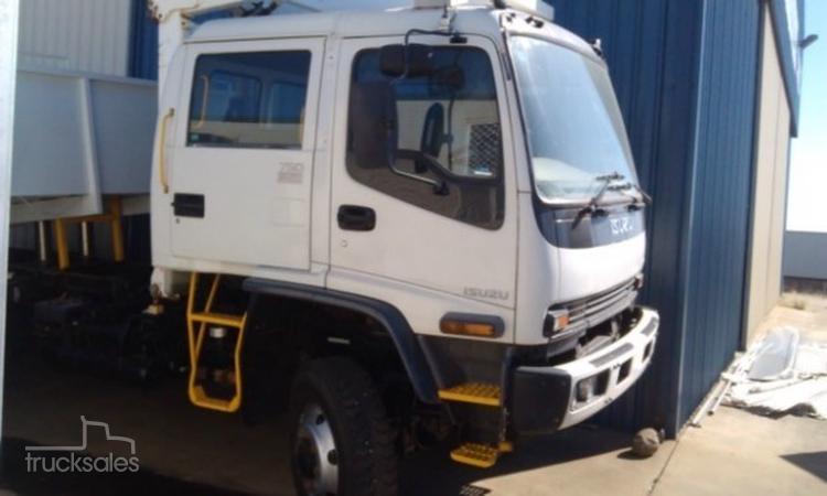2007 Isuzu Fts750 Fts 750 Crew